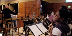 recording THE PRODIGAL soundtrack